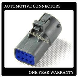 Wholesale 8 pin Male DJK7087B oem automotive connectors With Terminal and Rubber Seals