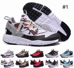 Wholesale 2016 Huarache Camo Running Shoes Mens Camo Print Sports Huaraches V Ultra Breath Air Huarache Shoes Sneakers Size