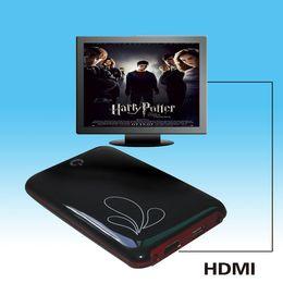 Wholesale MANTEL P Full HD Media Player SATA RM RMVB MKV H VOB DIVX With HDMI Port