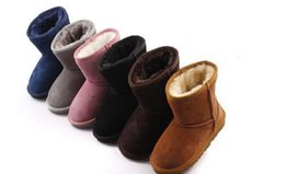Wholesale 2016 New Real Australia High quality Kid Boys girls children baby warm snow boots Teenage Students Snow Winter boots
