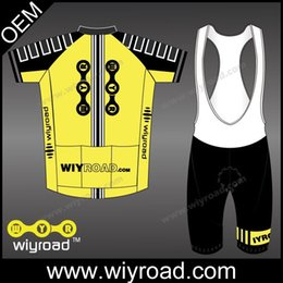 Wholesale Cycling Cycling Sets OEM custom service cycling wear sublimation bike jersey for men free design cycling clothng with high quality