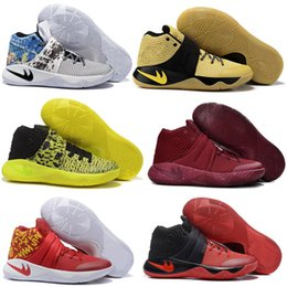 Wholesale Cheapest Kids Winter Shoes - Original Children Kids 2016 Cheap Kyrie 2 ( II ) Basketball Shoes Irving Signature Men Sneaker Cheap HBW Athletic Sneakers Wholesale