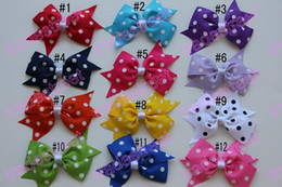Free shipping 200pcs 3.5 inches wing hair bows toddler hair bows hair bows for toddler toddler bows cute bows for girl