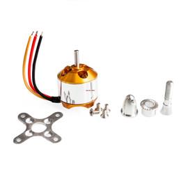 Wholesale set A2212 KV1000 Brushless Motor For RC Multirotor Aircraft Model Airplane Hobby kv brushless motor