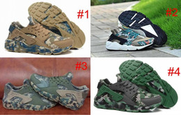 Wholesale 2016 Huarache Ultra Running Shoes Camo Huaraches Sneakers Breathe Shoes Women And Mens Air Huaraches Shoes Sneakers Size
