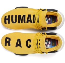 Wholesale Pharrell NMD Human Race sale Find the best deals of NMD Runner shoes new colorways of the quot Human Race quot design With Box