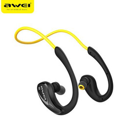 Awei A880BL Wireless Bluetooth Sports Stereo Ear Hook Earphones Noise Cancelling for Mobile Phone Portable Media Player Sport