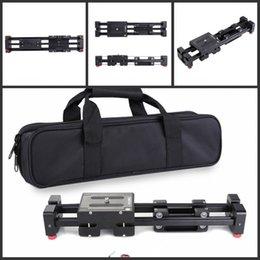 Descuento dslr deslizador 21 pulgadas / 52 cm Longitud de la cámara DSLR pista del resbalador del carro estabilizador de vídeo con 1/4