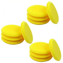 Wholesale Pack of for Vehicle Car SUV Waxing Polish Foam Sponge Wax Applicator Cleaning Detailing Pads