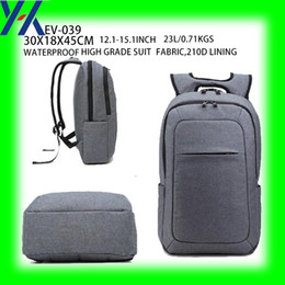 Wholesale 2016 New Product Waterproof Fabric ultralight Anti theft Korean Style Colorful Leisur for inch Laptop Backpack Bag
