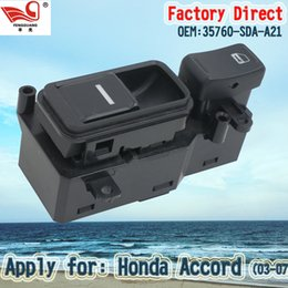 Wholesale Factory Direct Right and Front Master Electric Power Window Main Switch Apply for Honda Accord SDA A21