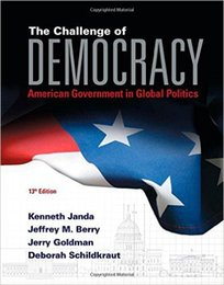Wholesale The Challenge of Democracy American Government in Global Politics ISBN