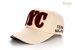 Sombreros casual para los hombres en venta-Nuevos 8 colores NYC de la venta al por mayor de la fábrica cupieron los casquillos ocasionales de los sombreros del snapback de los deportes al aire libre del sombrero para las mujeres de los hombres que enviaban libremente B175