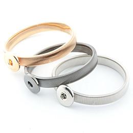 NOOSA Chunks Metal Snap Button Charm DIY Bracelet Interchangeable Jewelry Noosa Chunk Ginger Snaps Jewelry SZ00200