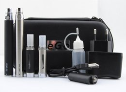 Starter kit torsion ego zipper en Ligne-New Twist MT3 Double Ego Starter E-cig Kits E-Cigarette Case Zipper eGo 2 Atomiseurs clearomizer 2 piles de cigarettes électroniques DHL