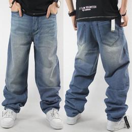 3 models 2016 Men hip hop jeans skateboard men baggy jeans denim hit hop pants Fashion casual loose jeans rap street wear 30-46