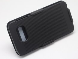 Hot Sell Black Belt Clip Swivel Kickstand Holster Case Cover For Samsung Galaxy S6 free ship