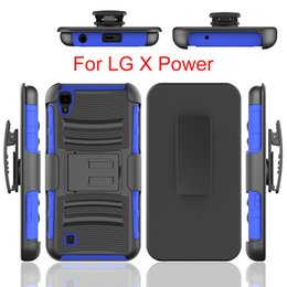 Wholesale For LG X Power Volt K210 K6 K6P Boost Mobile Hybrid Armor Case Heavy Duty Durable TPU PC Robot Cover hot sell