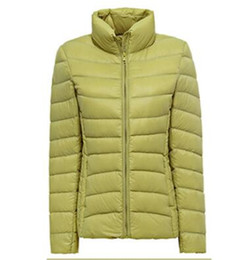 New 2016 Winter Two Side Women 90% White Duck Down Jacket Women's Stand collar Ultra Light Down Jackets Warm Winter Coat Parkas