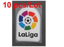 wholesale 2016-2017 New Liga LFP soccer patch Spanish League 16 17 SOCCER Badges 10 pcs  Lot free shipping !