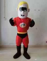 Costume de mascotte de commande en Ligne-Costume fait sur commande de costume de bande dessinée de Superman Tout costume de mascotte de modèle entrent en contact svp avec moi avant placez une commande