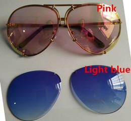 Or gros cadres lunettes en Ligne-En gros-nouvelle couleur Mode P8478 homme et femme lunettes designer Un cadre de deux pièces de lentilles, cadre en alliage GOLD FRAME