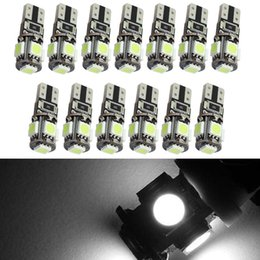 White Auto Wedge T10 Canbus 5smd T10 LED Canbus Car Led T10 Canbus w5w 194 Error Free Automotive Light Bulb Lamp