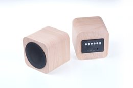 Wholesale 2016 Best selling fashionable classical Mini Wooden Bluetooth Speaker with high quality and promotional lowest price