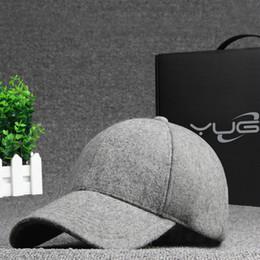 Fashion Solid color wool snapback baseball cap new brand outdoor cap winterAutum hip hop flat hat casquette bone cap men women