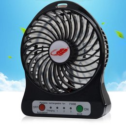Wholesale Portable Small Cooling Fans Adjustable Speed Mini USB Fan Rechargeable Cooling Fan for Laptop Notebook Computer PC Baby electric fan