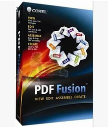 Wholesale PDF document production editing and conversion Corel PDF Fusion v1 in English
