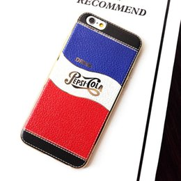Wholesale Luxury Relief Tape Letters Coca Cola Cases Electroplating Bumper TPU Soft Back Cover For iPhone Plus S Plus quot Fashion Protector