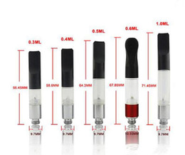 CE3 Vaporizer Atomizer 510 Cartridge O Pen vape pen 0.5ml 0.6ml 1.0ml vapor Mini Tank fit ecigs ego 510 batteries