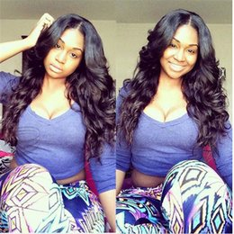 8A Loose Wave Virgin Human Hair Full Lace Wigs Body Wave Natural Hairline Front Lace Wigs With Baby Hair 130% Cheap Price