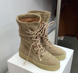 Wholesale New Season Men Women High Dr Boots Cow Suede Lace up Platform Shoe Martin Nubuck Leather Vintage Ankle Boot