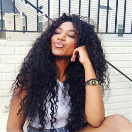 New Arrival Virgin Human Hair Curly Hair Lace Front Wig Natural Hair Line Glueless Full Lace Wig For Black Woman