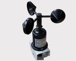 Wholesale Speed Sensor Signal - 1PCS X Wind speed sensor voltage signal 4-20MA   0-5V output wind speed transmitter anemometer free shipping