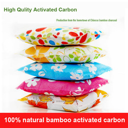 Wholesale Bamboo Charcoal Sachet Air Freshener Air Filter Anti microbial Deodoran Odor Absorber Bag G Of Bamboo Activated Carbon In Each Bag