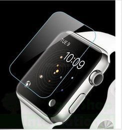 Wholesale DHL mm Premium H Real Tempered Glass Screen Protector Guard Film For Apple Watch quot Retail Box Pack quot