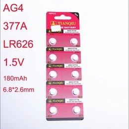 Wholesale AG4 LR626 A mm watch Accessories Electronic Products electronic ce watch battery button cell battery high quality