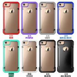 Wholesale Supcase Unicorn Beetle Cases Bumper Clear PC Hybrid TPU Back Cover Case for iPhone Plus S Plus Samsung Galaxy S7 S6 Edge Plus Note