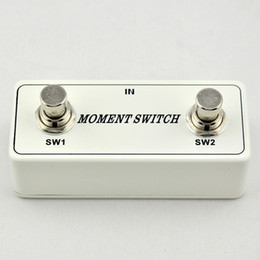 Wholesale Two Button Momentary Remote Footswitch Pedal Electric Guitar Foot Switch