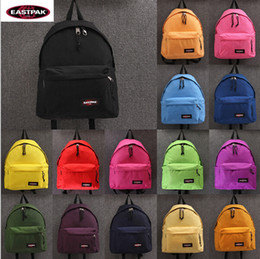Wholesale 18 Colors sac a dos Famous brand eastpack backpack school bags eastpak women men waterproof sports travel bags hiking laptop backpacks