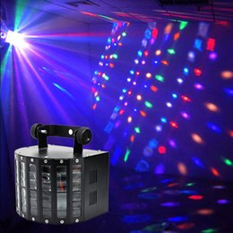 Swing of a light beam laser projector lighting DJ new disco sound control DMX RGBW LED stage light effect