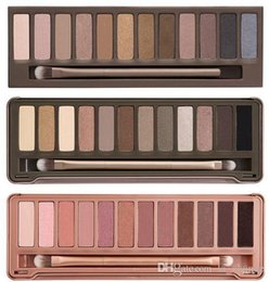Wholesale 2016 new Eyeshadow Palette The st nd rd Generation Makeup Newest Colors Cosmetic Shimmer Matte Eye Shadow With Brush DHL