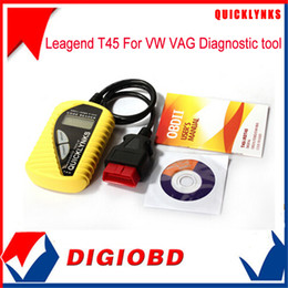 Wholesale-2016 Leagend T45 For VW VAG Code Reader free update mini scanner tool multi-functional vag car code reader T45 Free Shipping