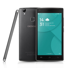 Wholesale Original Doogee X5 MAX Pro Smartphone G LTE Inch HD MTK6737 Quad Core Andriod Mobile Phone GB ROM GB RAM MP CAM