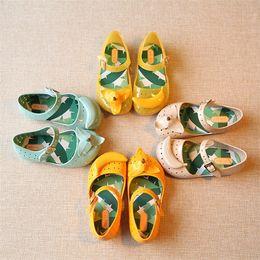 Wholesale Mini Sed Girls Shoes Summer Cartoon Banana Girls Sandals Cute Sandals For Children Shoes For Girl shoes Kids Sandals SED