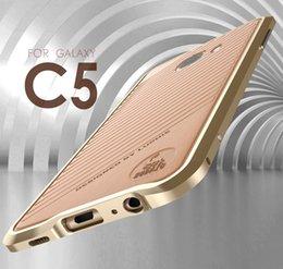 Marco de parachoques ultrafino de la aleación de aluminio de Luphie para la galaxia C5 S6 / S6edge de Samsung / S6edge + / S7 / S7edge / Note2 / Note3 / Note5 / A8 / Note4 / desde nota 2 galaxia delgada fabricantes