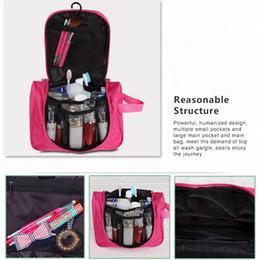 New Arrival large capacity women travel toilet wash bag handbag hanging cosmetic female makeup organizer cosmetic bags